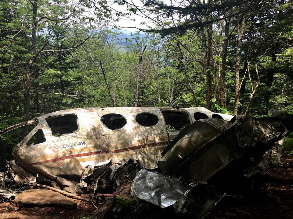 Cessna 414A Waterrock plane crash
