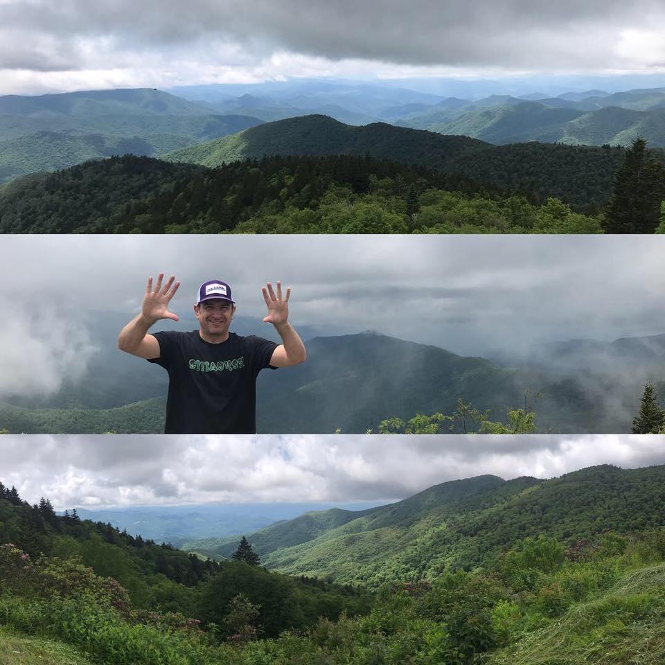 Tennet Mountain, Sam's Knob, Mt Mitchell