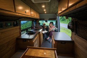 Plan your next Asheville Adventure from the Van